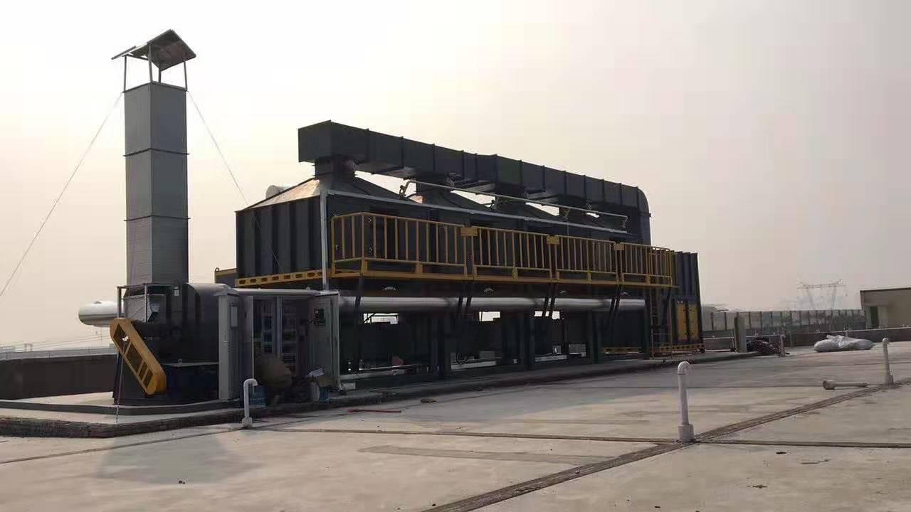 惠州催化燃烧废气处理设备 厂家直销 长宏